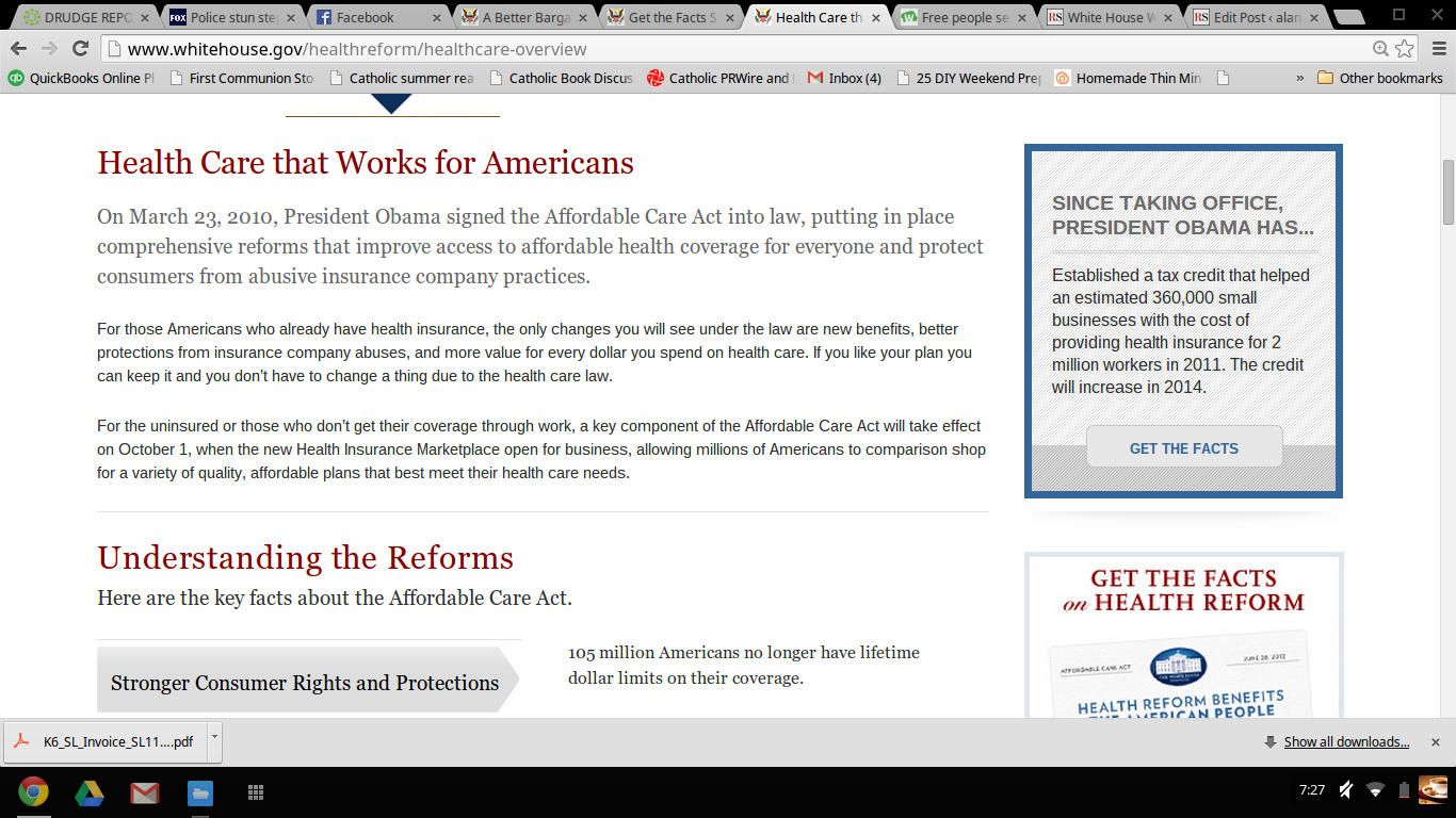 """White House Website Still Shows Original """"You Can Keep Your Plan"""" Promise"""